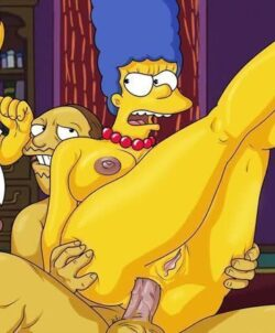 Marge Simpsons sendo fodida