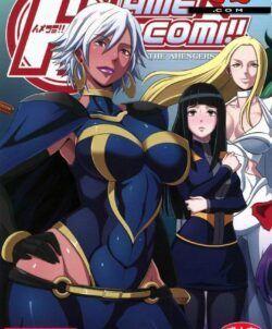 X-Men Hentai: Tempestade tendo sua buceta arregaçada
