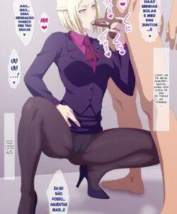 Tokyo Ghoul Hentai: Investigadora Ghoul recebendo leitinho
